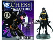 DC Chess Figurine Collection #28 Black Bat White Pawn Eaglemoss